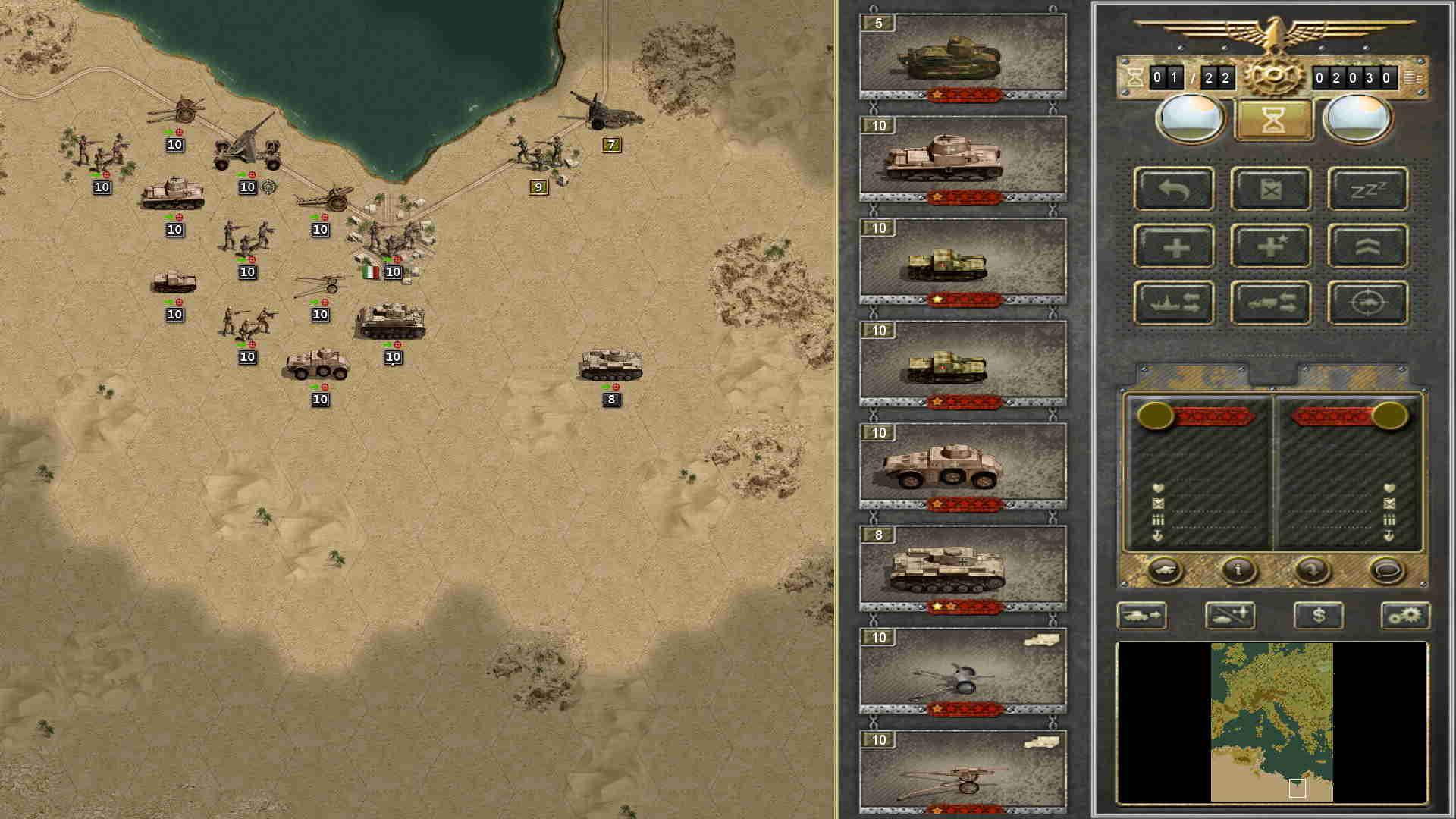 Battle Field Europe on the Mac - Slitherine