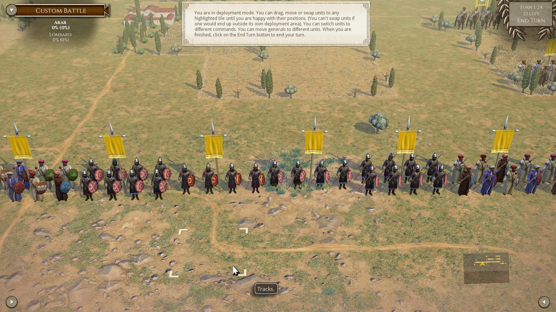 Bug report:(order to)dismounted muslim armored lancers