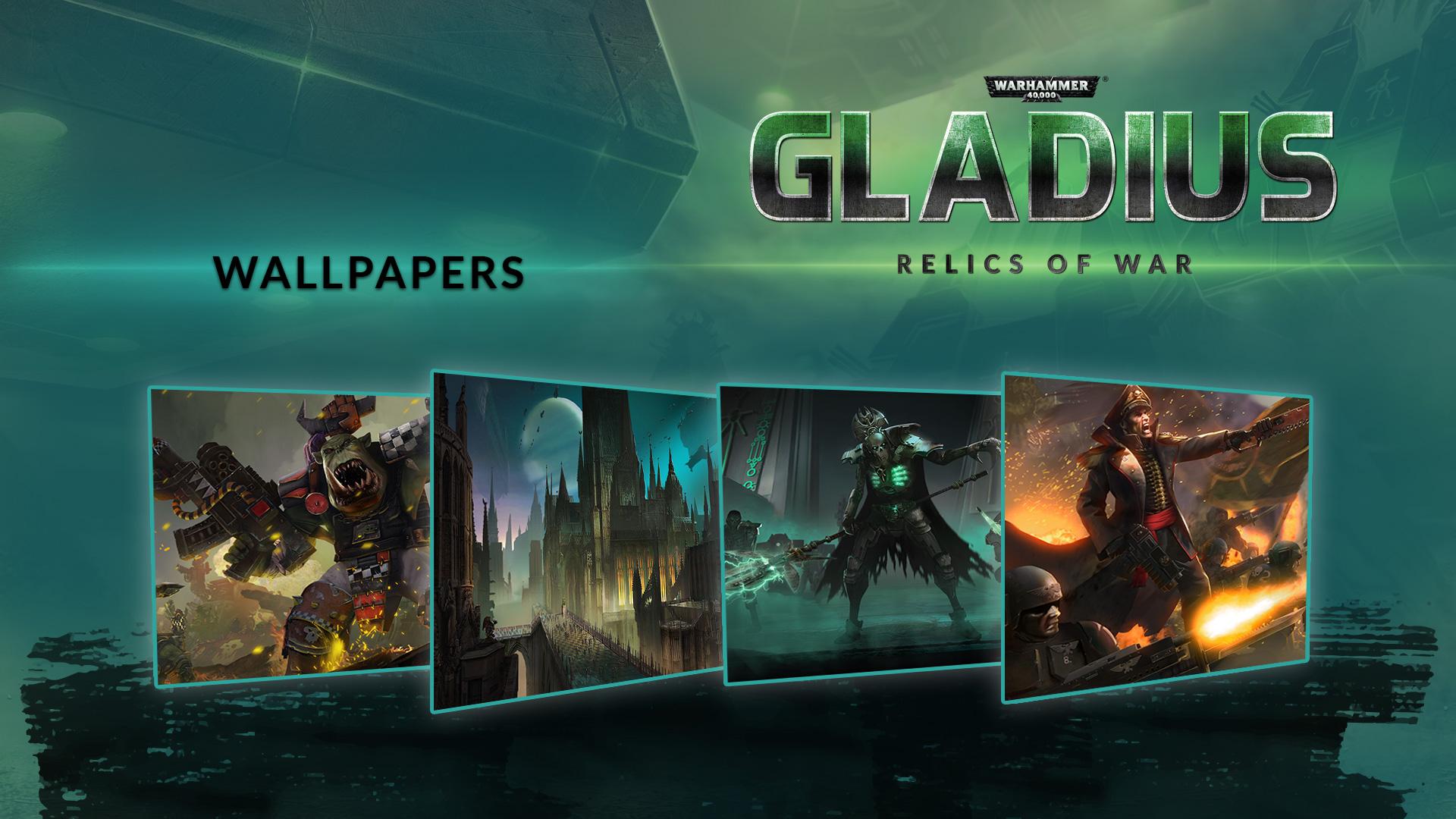 Warhammer 40 000 Gladius Relics Of War Wallpapers Game Dlc